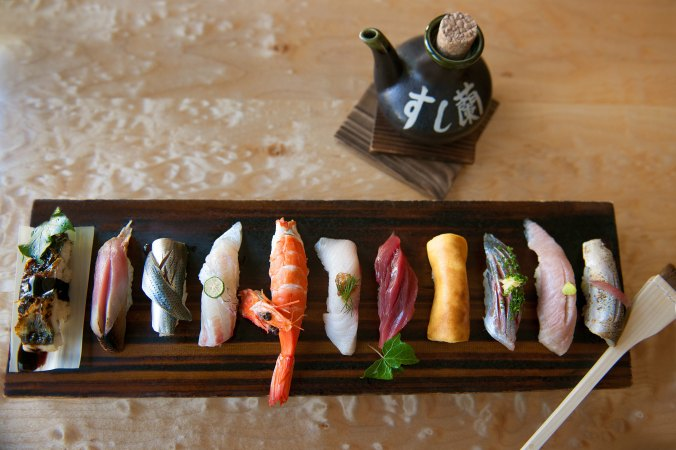 Sushi Ran, culinary partner of Japantown Foundation New Year's Celebration